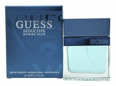 Guess Guess Seductive Homme Blue Eau De Toilette Edt - Men's For Him. New • 21.21£