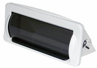 $14.99 • Buy New Pyle Plmrcw2 White Marine Boat Radio Stereo Water Resistant Cover Housing