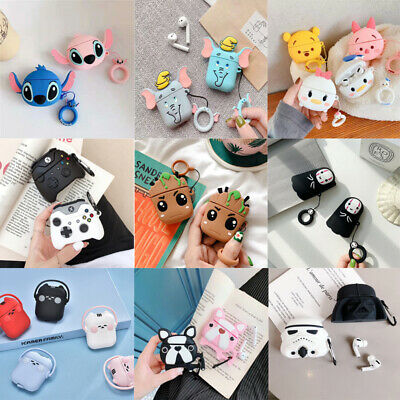 3D Cute Cartoon Silicone Airpod Protective Case Cover Skin For Airpods 1/2/Pro 3 • 3.56£