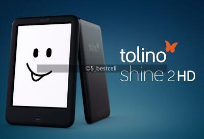 $89.44 • Buy Ebook Reader Tolino Shine2 HD 300PPI 6  Ink Screen 4G With Backlight WIFI E-ink