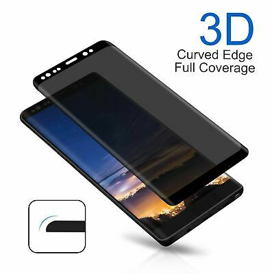 $ CDN7.39 • Buy Privacy Tempered Glass Screen Protector For Samsung Galaxy Note S8 S9 S10 Plus J