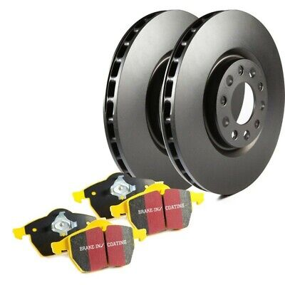 S13KF1628 EBC Brake Disc And Pad Kits 2-Wheel Set Front New For Ford Focus 02-04 • 229.85$