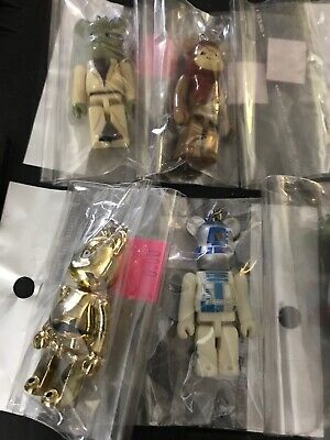 $85 • Buy Star Wars Bearbrick Medicom Pepsi 10  Figures 2008 Darth Vader, Boba Fett C3po