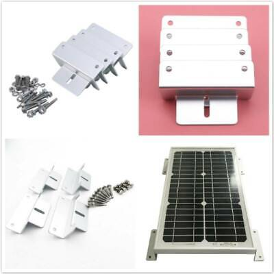 AU12.92 • Buy Z-Style Solar Panel Mounting Fixing Brackets For Caravan Roof Hardware Kits Tool