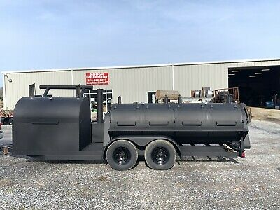 $12900 • Buy Bbq Trailer Grill Smoker 2-5' Rotisseries And 5' Flat Grill!!🎯