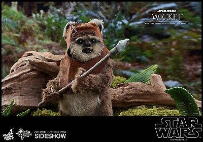 $179 • Buy Hot Toys 1/6th Scale Wicket Figure Star Wars Return Of The Jedi ( Preorder)