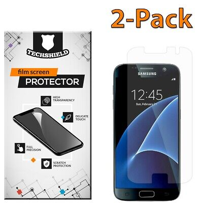 $ CDN2.52 • Buy For Samsung Galaxy S7 Screen Protector Film PET Clear Premium Cover [2-PACK]