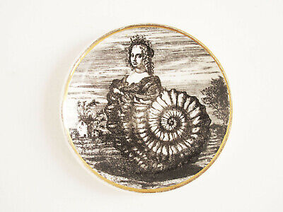 $60 • Buy Fornasetti Milano Made In Italy Le Oceanidi Dish Plate Lady Sea Shell Nautilus