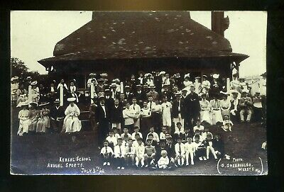 £15 • Buy SALFORD / KERSAL Lancashire School's Annual Sports Day 1906 Group Of People  RP