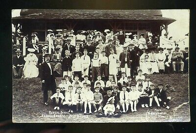 £15 • Buy SALFORD / KERSAL Lancashire School's  Sports Day 1906 Group Of People  RP  #1