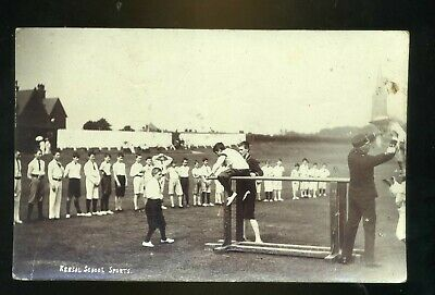 £15 • Buy SALFORD / KERSAL Lancashire School's Sports Day 1906 Parallel Bars Display RP #1