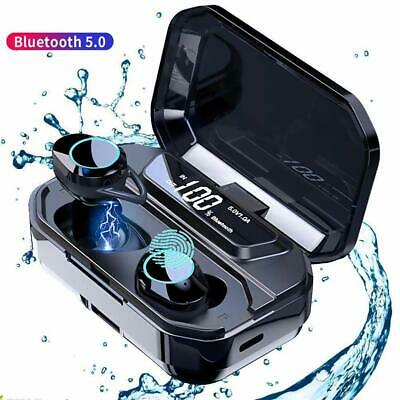 AU15.90 • Buy TWS Wireless Earphones Bluetooth 5.0 Touch Control Earbuds 3D Stereo Headsets