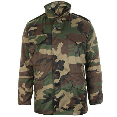 $103.95 • Buy Woodland Camouflage M65 Field Jacket - US Army Military Parka With Winter Liner