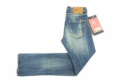 Prps Faded Distressed Blue 29 Selvedge Demon Slim Fit Jeans Mens Nwt New • 96.37£