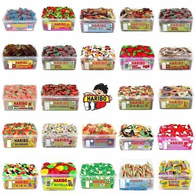 HARIBO PICK N MIX TUBS Or BAGS SWEETS CANDY BOX KIDS PARTY FAVOURS • 9.66£