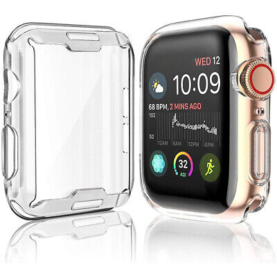 AU5.59 • Buy Case For Apple Watch Series 5 4 3 2 1 Full Protective TPU Slim Cover SHOCKPROOF