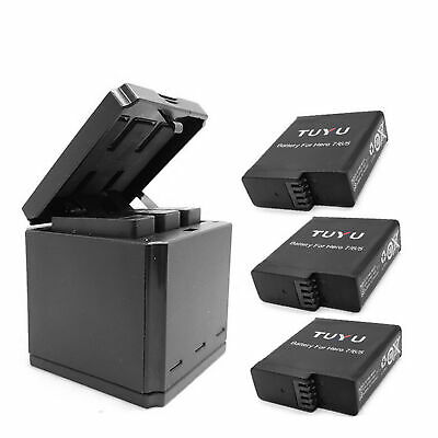 $ CDN17.79 • Buy For Gopro Hero 8 7 6 5 3 Slots Travel Charging Box Battery Charger