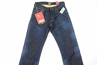 Prps Goods & Co Faded Selvedge Blue 31 Barracuda Regular Fit Jeans Mens Nwt New • 91.74£