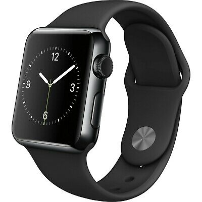 $ CDN230.06 • Buy Apple Watch Series 2 - Stainless Steel - GPS - Black -Stainless Steel - 38MM 42M
