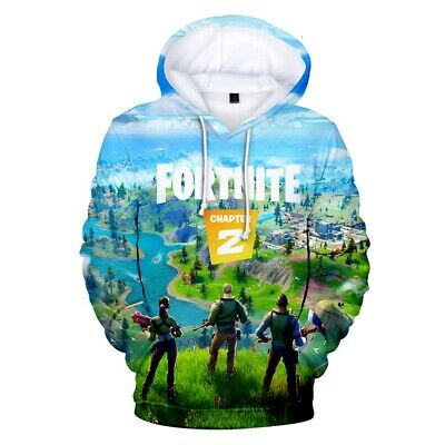$ CDN9.13 • Buy SPECIAL Gamer 3D Fortnight Battle Royale Chapter 2 Men Women Hoodies Sweatshirt