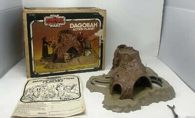 $ CDN82.26 • Buy VINTAGE 80'S KENNER STAR WARS ESB DAGOBAH PLAYSET W/ ORIGINAL BOX Poor Condition