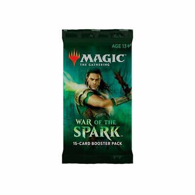 AU5.99 • Buy Magic The Gathering - War Of The Sparks Booster Pack NEW