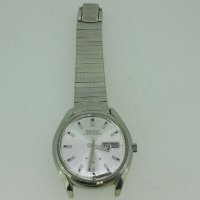 $ CDN172.01 • Buy Vintage Seiko Presmatic 33J 5106-9000 Day-Date Stainless Steel Watch Parts