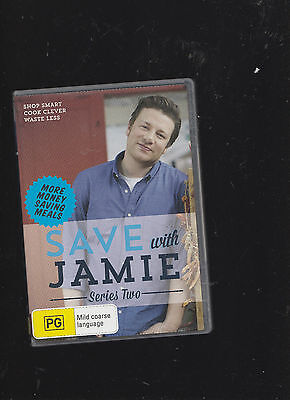 AU12 • Buy Save With Jamie Series Two 2 DVD Set  - Jamie Oliver Shop Smart, Cook Clever, Wa