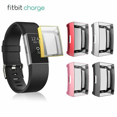 $ CDN6.20 • Buy TPU Silicone Full Screen Protector Clear Case Cover For Fitbit Charge 2 USA