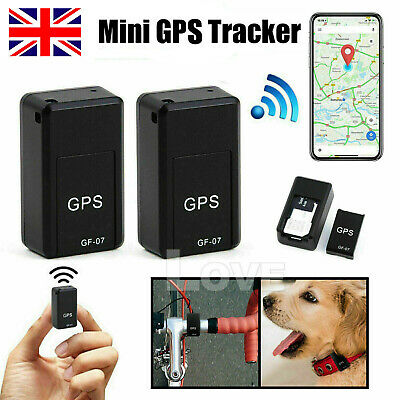 Real Time Mini GPS GPRS Tracker Magnetic Car Spy GSM Tracking Locator Device • 6.99£