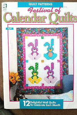 $8.95 • Buy House White Birches 141019 CALENDAR QUILTS 1995 54pg Pattern Booklet 12 Designs