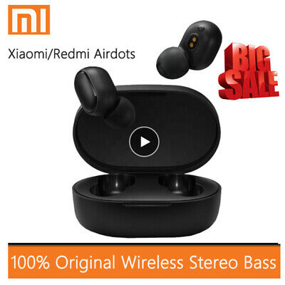 $10.99 • Buy Original Xiaomi Redmi AirDots Mi True Wireless Earbuds Basic Bluetooth Earphone-