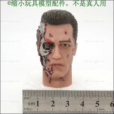 £15.91 • Buy 1/6 Scale Terminator T800 Half Damaged Head For 12  Action Figure Toys