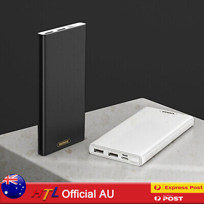AU19.90 • Buy 【HTL】10000 20000mAh Thin Power Bank 2USB TypeC Micro Fast Charging For Mobile