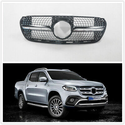 AU338.78 • Buy Front Grille Upper Grill For Mercedes Benz X-Class 2018+ Black MA