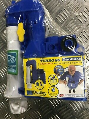 Thomas Dudley Turbo 88 2 Part 7.5 Inch-9.5 Inch Adjustable Lever Flush Syphon • 24.99£