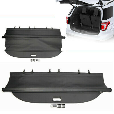 $99.80 • Buy Rear Trunk Cargo Security Shield Shade Cover For Ford Explorer 2011-2018 Black