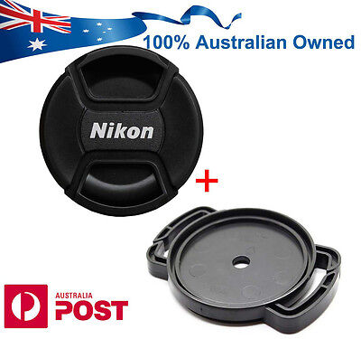 AU9.88 • Buy NIKON COOLPIX P1000 LENS CAP Front Snap  + Anti Lost Buckle Holder AU Seller