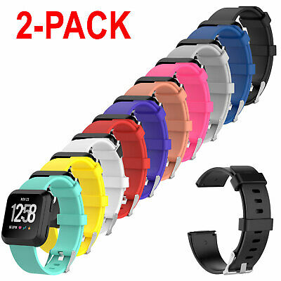 $ CDN7.16 • Buy 2-Pack Replacement Rubber Band Strap For Fitbit Versa 2 Watch / Lite Edition