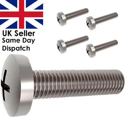 £3.95 • Buy 4X M8 45MM Screws Bolts For SAMSUNG Televisions TV LCD LED Wall Mount Bracket