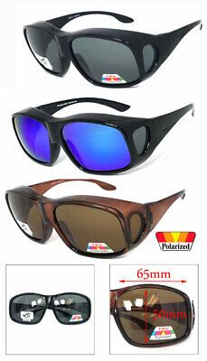 Large Fit Over Most Rx Glasses Sunglasses Polarized Lens Cover All Wrap Around • 9.04£