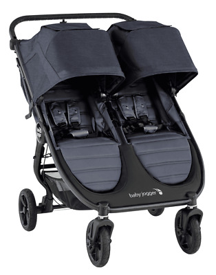 Baby Jogger City Mini GT2 Twin Baby Double Stroller Carbon NEW 2020 • 448.62£