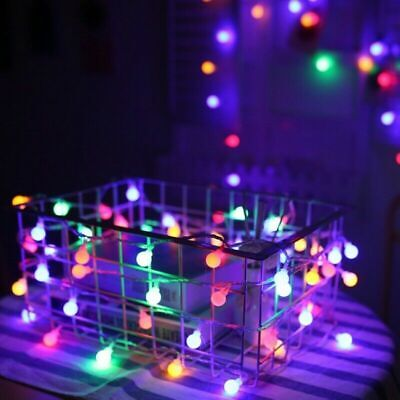 20LED Globe String Lights Battery Powered Fairy String Light Wedding Christmas • 3.81£