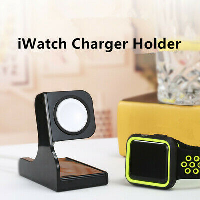 $ CDN2.58 • Buy For Apple Watch IWatch Charger Holder Cradle Bracket Charging Dock Plastic Stand