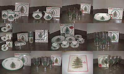$49.99 • Buy Spode Christmas Tree Pattern Tableware And More