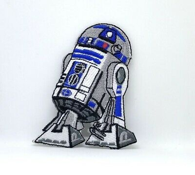STAR WARS Movies Iron Or Sew On Embroidered Patches - R2D2 • 1.95£