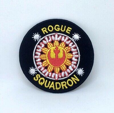 Star Wars Rogue Squadron Iron On Sew On Embroidered Patch • 1.99£