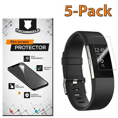 $ CDN5 • Buy For Fitbit Charge 2 Screen Protector Film PET Clear Premium Cover [5-PACK]