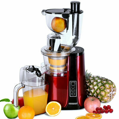 DEUBA Slow Extraction Juicer 1.8L Cold Press Extractor With Reverse Mode 500W • 99.99£