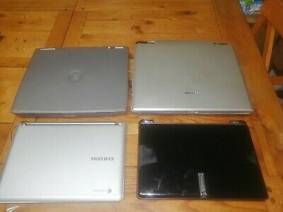 $ CDN56.90 • Buy Lot Of 4 Mixed Laptops Not Working Parts Dell, Toshiba, Gateway, Samsung See Pic